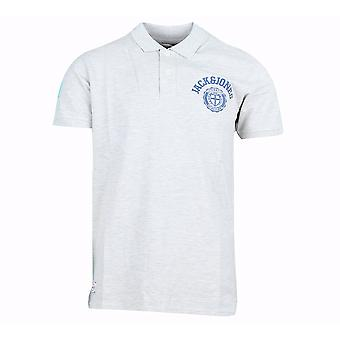 Jack and Jones Athletic Polo White Polo Shirt