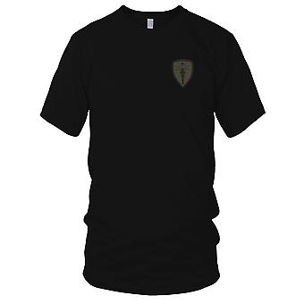 US Army - US Indiana guardia nazionale ricamato Patch - Ladies T Shirt