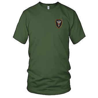 ARVN erikoisjoukkoja maakunnan tiedustelu yksikkö - Vietnamin sodan kirjailtu Patch - Miesten T-paita