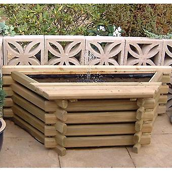 Norlog Flat Back 25 Gallon Pool With Fountain