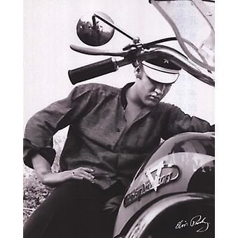 Elvis Presley - Bike-Poster-Plakat-Druck