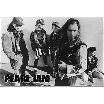 Pearl Jam Street Poster Poster Print