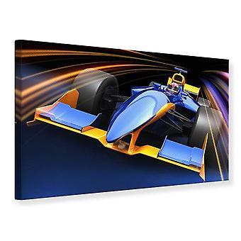 Canvas Print Auto Racing