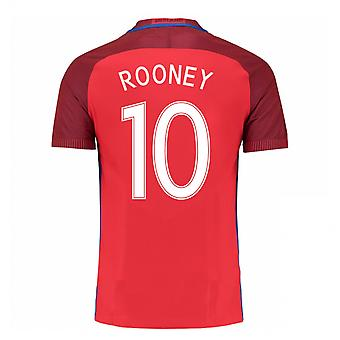 2016-17 Angleterre maillot (Rooney 10) - Kids