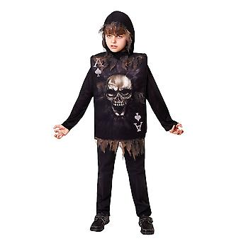 Skeleton Boy Tabard Hood (1 Size)