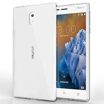 Nokia 3 Ultra Slim Tpu Gel With Inner Dots - Clear