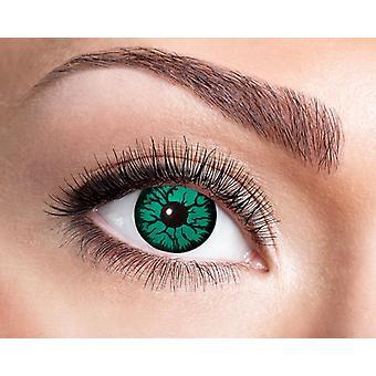 Monster alien contact lenses