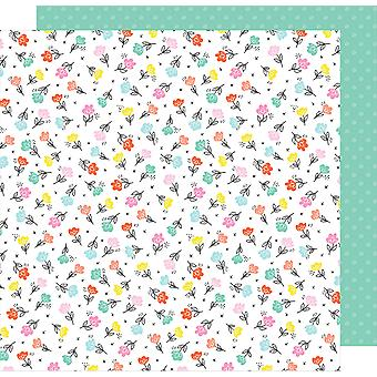 Dear Lizzy Stay Colorful Double-Sided Cardstock 12