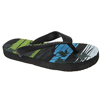 Sand Rocks Childrens Boys Beach Design Flip Flops