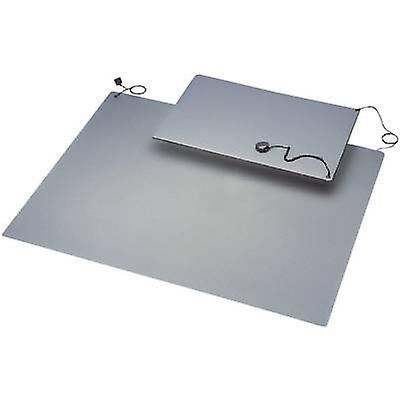 ESD mat set Grey (L x W) 900 mm x 600 mm BJZ C-184 105P 10.3 incl. PG strap, incl. PG connector, incl. PG cable, incl. c