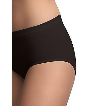 BlackSpade 1312 Women's Black Knickers Panty Brief 3 Pack