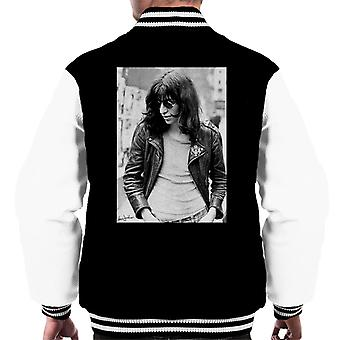 Joey Ramone Of The Ramones 1977 Men's Varsity Jacket