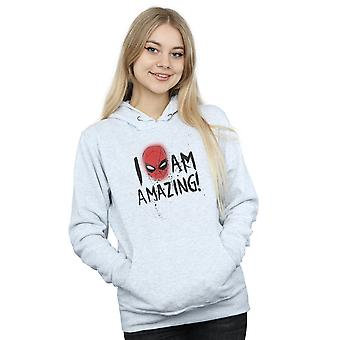 Marvel Women's Spider-Man I Am Amazing Hoodie
