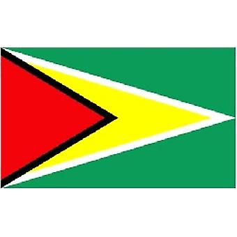 Guyana Flag 5ft x 3ft With Eyelets For Hanging