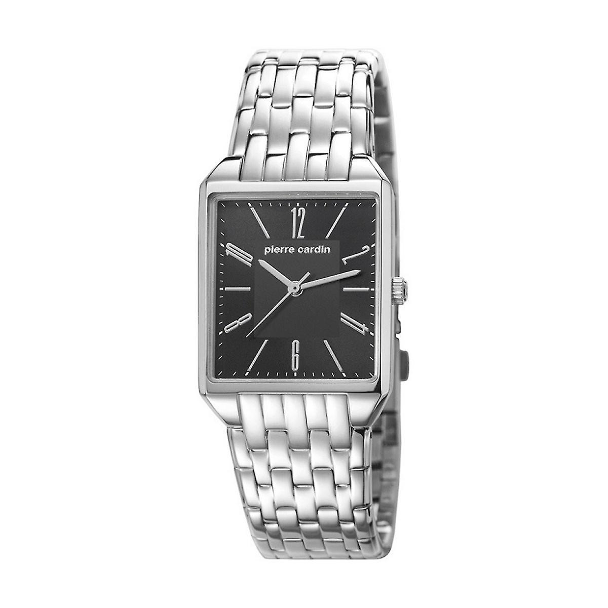 Pierre Cardin Damen Unisex Uhr Armbanduhr CHEMIN NEUF Schwarz PC106691F06