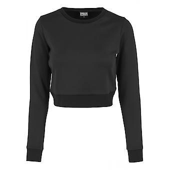 Urban classics ladies sweater scuba cropped crew