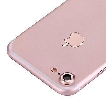 Camera protection protector ring for Apple iPhone 7 rose
