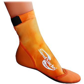 Sand Socks classico alto Neoprene superiore atletico - tramonto arancione