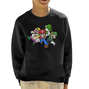 Team Super Mario Kid's Sweatshirt