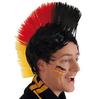 Perücke Irokese Fan Deutschland Germany