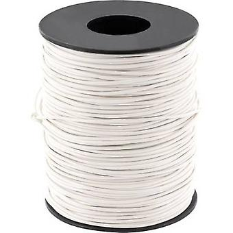 Jumper wire 1 x 0.20 mm² White BELI-BECO D 105/10