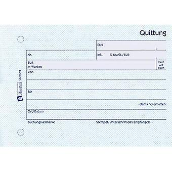Avery-Zweckform Receipt 300 A6 landscape No. of sheets: 50 White