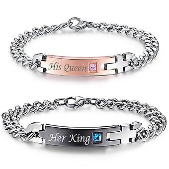 Love Bracelet-Pars Jewelry-Her King Or His Queen