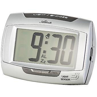 Quartz alarm clock alarm clock quartz light sensor with Nachleucht effect