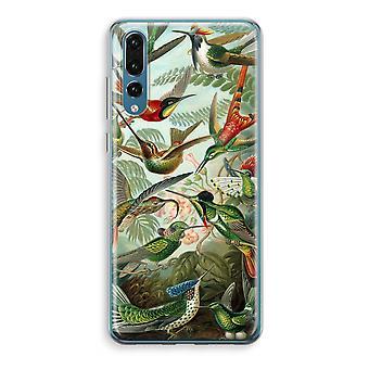 Huawei P20 Pro Transparent Case (Soft) - Haeckel Trochilidae