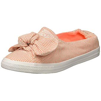 Converse Women's Knot Striped Chambray Slip on Sneaker,
