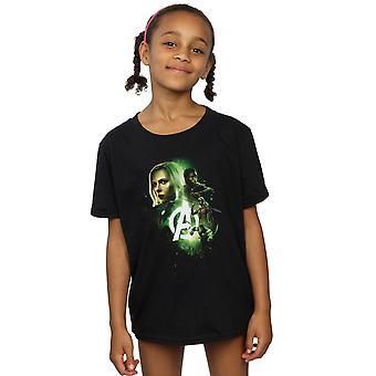 Marvel Avengers Infinity Krieg Witwe Panther Mädchenmannschaft bis T-Shirt