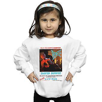 David Bowie meisjes Aziatische Poster Sweatshirt