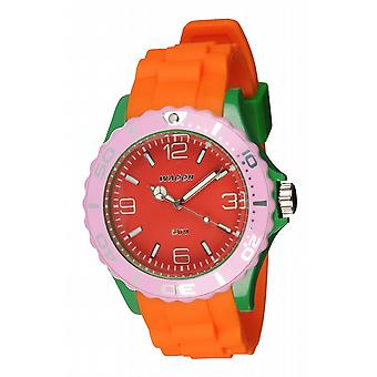 Waooh - Watch MC42 Multicolored red green & pink