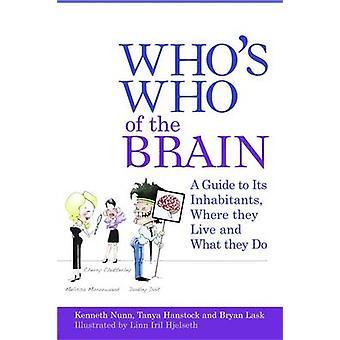 Who's Who van de hersenen - A Guide to de bewoners - waar ze wonen
