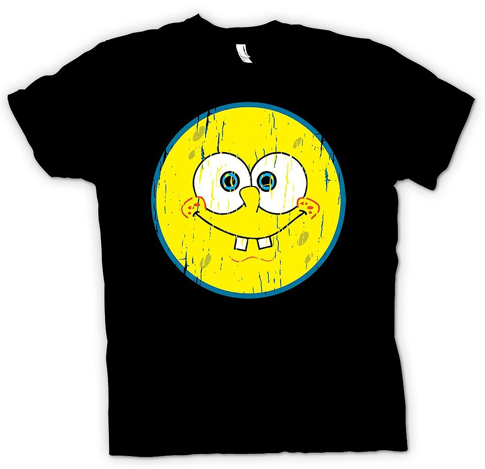 Herr T-shirt - Smiley Face - Sponge Bob
