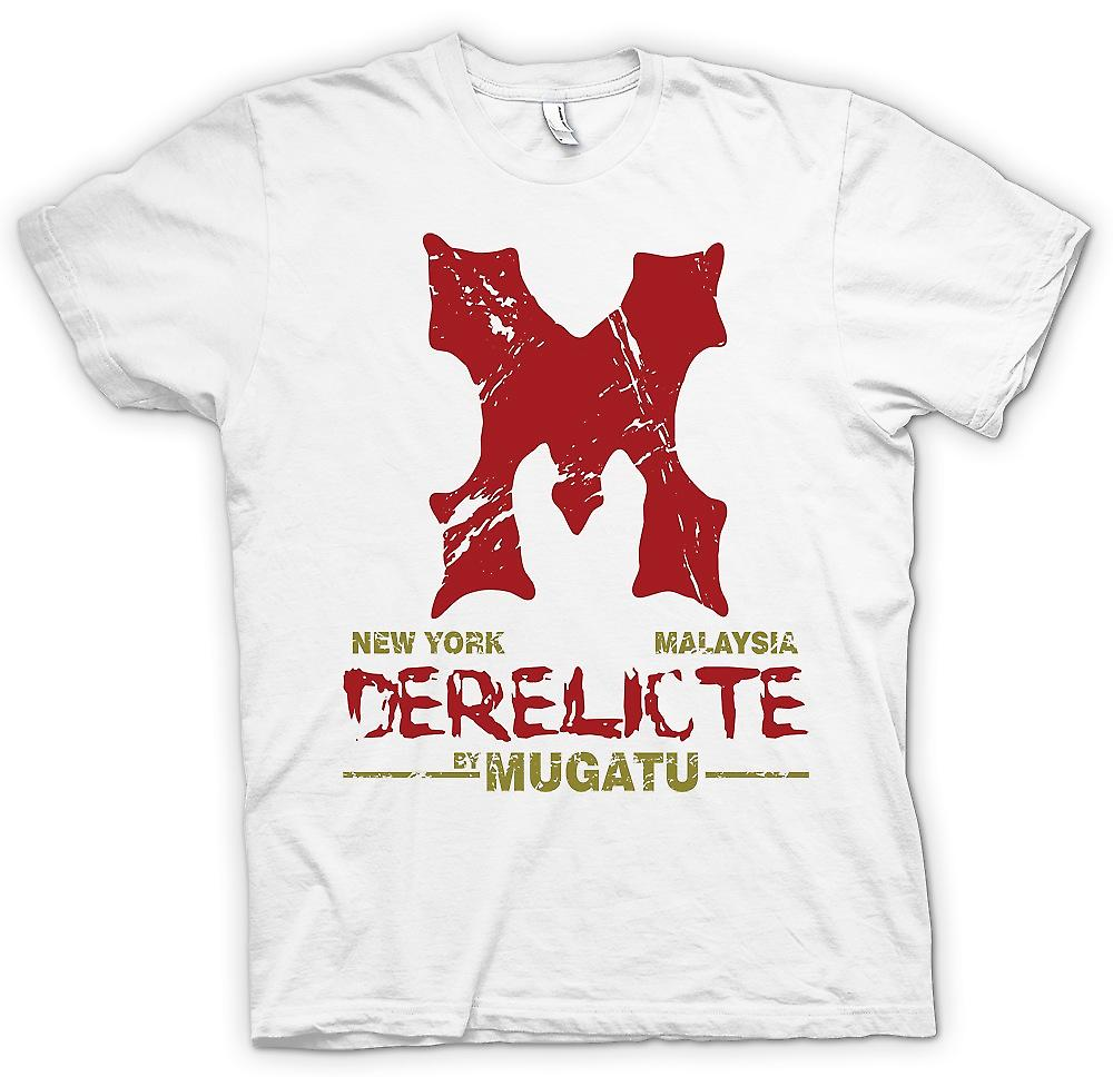Mens T-shirt - Derelicte By Mugatu - Zoolander Inspired