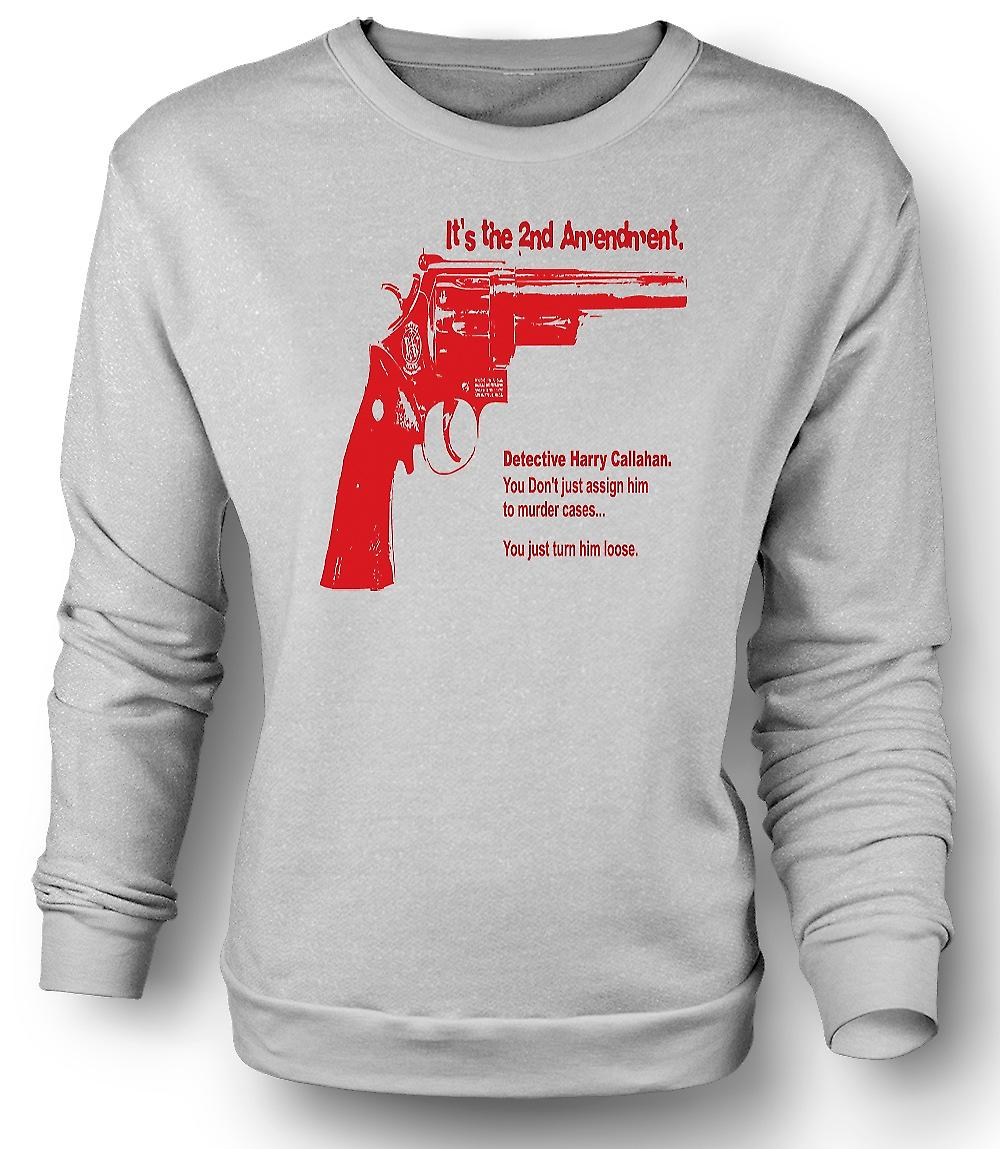 Mens Sweatshirt Dirty Harry 44 Magnum - film