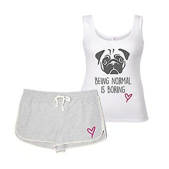 Pug Being Normal Is Boring Pyjama's