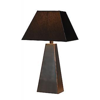 Inspiracja Yessin nowoczesny Metal rdza brązowy stół Lampa