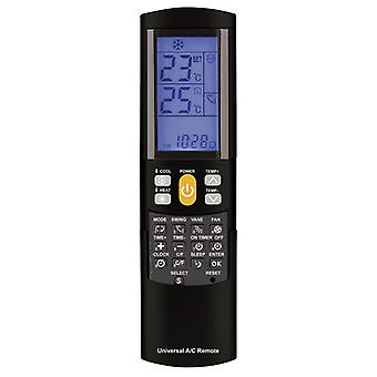 TechBrands Universal Remote Control for Air Conditioners w/ Backlit LCD