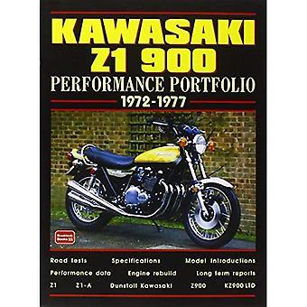 Kawasaki Z1 900, 1972-77 (prestanda portfölj) (prestanda portfölj)