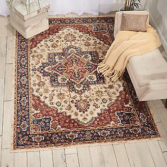 Lagos LAG01 rectángulo crema alfombras alfombras tradicionales