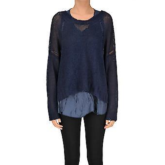 P.a.r.o.s.h. Blue Linen Sweater