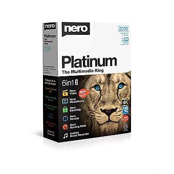 Nero Platinum 2019 6 i 1 Suite Multimedia programvare PC-boksen