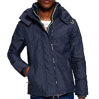 Superdry heren Tech Hood Wind bedrieger Zip Jacket Marl