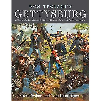 Don Troiani's Gettysburg: 34 Masterful Paintings and Riveting History of the Civil War's Epic Battle