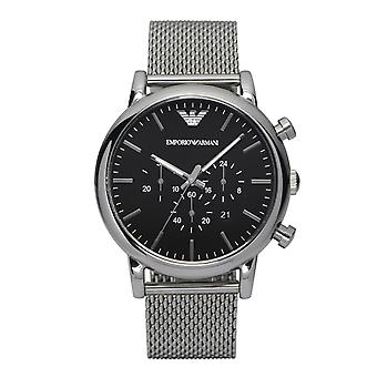 Emporio Armani Ar1808 Stainless Steel Black Mens Watch