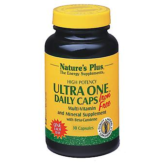 Natures Plus ULTRA ONE DAILY IRON FREE VCAPS 30