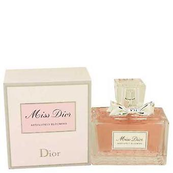 Miss Dior absolut blommande av Christian Dior Eau de Parfum Spray 3,4 oz (kvinnor) V728-534296