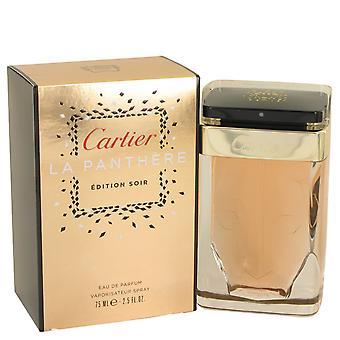 Cartier La Panthere utgåva Soir Eau de Parfum 75ml EDP spray